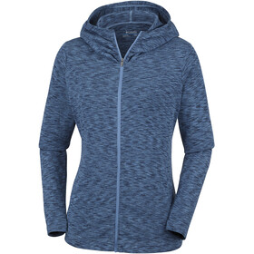Columbia OuterSpaced Sudadera con cremallera completa Mujer, blue dusk space